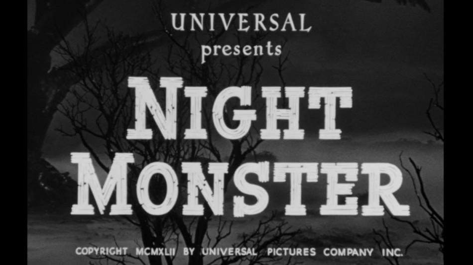 («Болотяний газ змішався з місячним світлом» або «Нічний монстр»-1942)