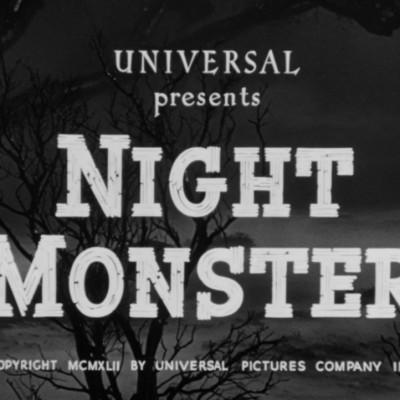«Болотяний газ змішався з місячним світлом» або «Нічний монстр»-1942